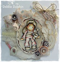 Pink Ribbon Tilda / Debbie Dolphin
