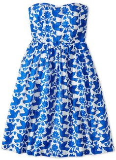LE CATCH: the strapless day dress