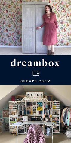 Sewing Room Design, Craft Room Design, Home Room Design, Sewing Rooms, Home Interior Design, Sewing Room Organization, Craft Room Storage, Craft Room Closet, Craft Storage Cabinets
