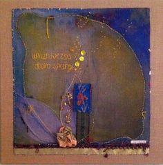 LinenLEMON original textile art by Cassandra Wainhouse