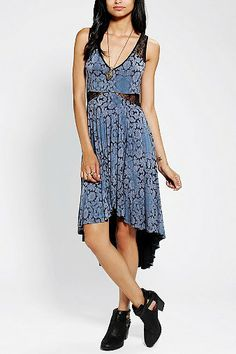 Ecote High/Low Lace Dress #aria