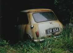 Mini abandonado. http://www.restaurandounmini.com