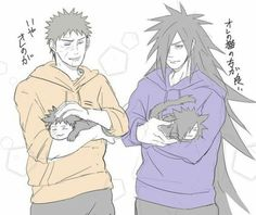 Madara and Obito Nekos  UwU ^^ <3