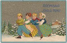 Веб-Портал Музеев - Postkaart. Jõulud. 1909.
