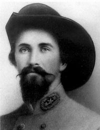Confederate General John Hunt Morgan was a Confederate general and cavalry officer in the American Civil War.    Morgan is best known for Morgan's Raid when, in 1863, he and his men rode over 1,000 miles covering a region from Tennessee, up through Kentucky, into Indiana and on to southern Ohio. This would be the farthest north any uniformed Confederate troops penetrated during the war.