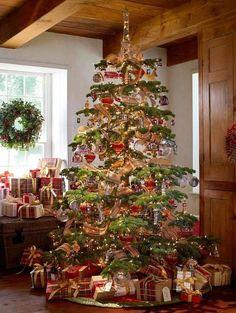 Encantador árbol navideño!