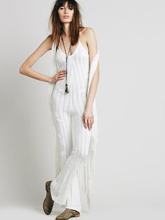 Free People Forget Me Not Halter Jumpsuit, $348.00