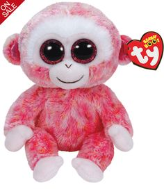 Melt her heart with this adorable Beanie Boos Ruby Monkey, now on sale at Whitcoulls for just $8.99