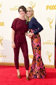 Pin for Later: See Every Star on This Year's Emmys Red Carpet! Judith Light and Gaby Hoffmann