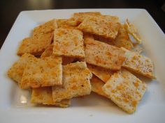 Spicy Cheese Thins This recipe is a variation of an Almond Thin cracker recipe posted on Low Carb Friends forums. It was originally posted there by a member known as Miredkitty, but am not sure if it is in fact Mire. Atkins Recipes, Low Carb Recipes, Snack Recipes, Cooking Recipes, Keto Snacks, Banting Recipes, Free Recipes, Primal Recipes, Healthy Snacks