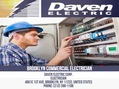 Many electricians are operating in Brooklyn. But not all of them are created equal. Many Brooklyn electricians are skilled, but they are not licensed by the authorities to provide their services in the borough.  #BrooklynCommercialElectrician #CommercialElectricianinBrooklyn #CommercialElectricianinManhattan #CommercialElectricianinNY #CommercialElectricianNearMe #ElectricalInstallationNearMe  Daven Electric Corp. Electrician 4601c 1st Ave, Brooklyn, NY 11232, United States Phone: 212-390-1106 Commercial Electrician, Professional Electrician, Electrical Installation, Business Names, Equality, Brooklyn, Knowledge, United States, Nyc