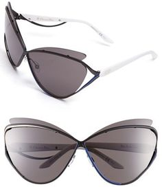 db9522df1b8 Dior  Audacieuse 1  72mm Butterfly Sunglasses Dior Sunglasses