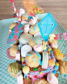 If you are 7 and you ask for a Summer-confetti-marshmallow-candy cake …