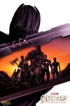 """Take a look at this Marvel Studios' """"Avengers: Endgame""""-inspired poster by artist Doaly Design Services! Marvel Avengers, Marvel Fan, Marvel Heroes, Captain Marvel, Captain America, Avengers Team, Avengers Superheroes, Avengers Movies, Marvel Universe"""