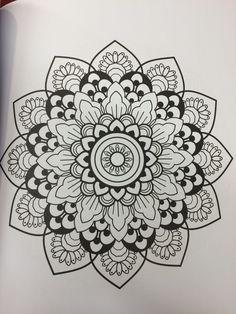 Mandala Mandalas Painting, Mandalas Drawing, Mandala Coloring Pages, Colouring Pages, Coloring Books, Mandala Dots, Mandala Design, Doodle, Design Tattoo