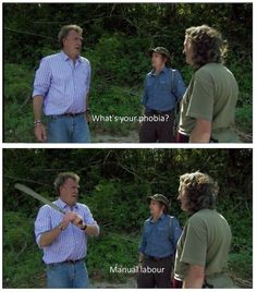 Top Gear UK phobia lol Jeremy Clarkson Richard Hammond James May I can relate… Seinfeld, Golden Girls, Funny Quotes, Funny Memes, Jokes, Car Memes, Car Humor, Movie Quotes, South Park