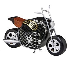 Pier 1 Imports Motorcycle Figurine Fan (£71) ❤ liked on Polyvore featuring home, home decor, black, pier 1 imports, black figure, black figurines, gold home decor and gold home accessories