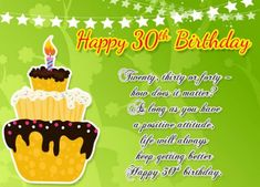 50 Best 30th Birthday Wishes for
