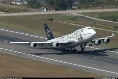 """Thai Airways International Boeing 747-4D7 """"Star Alliance"""" LogoJet"""