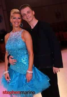 Mikolay and Charlene enjoy a great dance partnership at the First Coast Classic in Jacksonville, Florida.  Photo by Stephen Marino 2013.