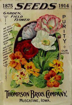 Season of 1914, catalogue back cover