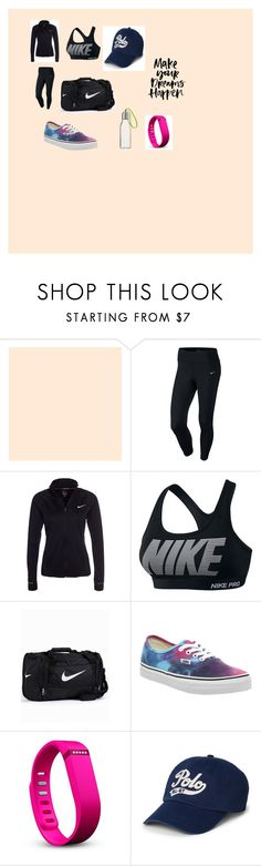 """""""sportswear.."""" by marcia-naftal on Polyvore featuring NIKE, Vans, Fitbit, Polo Ralph Lauren, Eva Solo, women's clothing, women, female, woman and misses"""