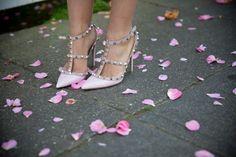 Pink Valentino Rockstuds via Gal Meets Glam