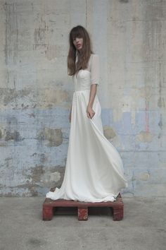 Robes de mariée - Elise Hameau - Collection 2017 | Modèle: Ana | Photographe: Romina Shama | Donne-moi ta main - Blog mariage