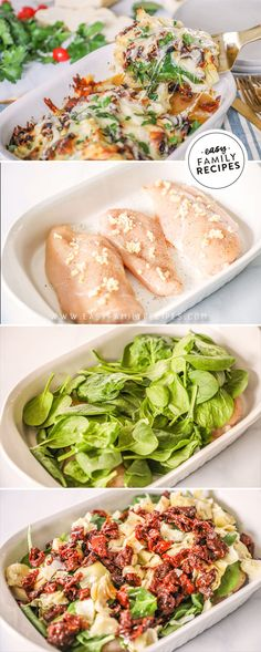 The BEST Tuscan Garlic Chicken – Easy Family Recipes BEST Chicken dinner! This easy Tuscan Garlic Chicken recipe is a … Tuscan Garlic Chicken, Garlic Chicken Recipes, Shrimp Recipes, Rib Recipes, Baked Chicken, Keto Recipes, Healthy Family Meals, Family Recipes, Healthy Quick Meals