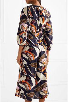 03fba8467bbd APIECE APART - Las Islas printed cotton and silk-blend jumpsuit