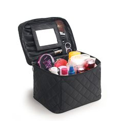 878ac78a3d9b 2017 Luxury Cosmetic Bag Big Professional Toiletry Bags Travel Makeup Case  Beauty Necessaries Make up Storage