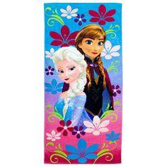 Disney frozen Elsa & Ana Beach Towel