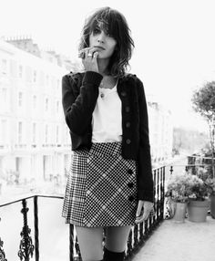 Alexa Chung #style #fashion