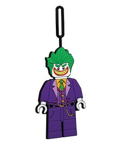 LEGO Batman Movie The Joker Luggage Tag