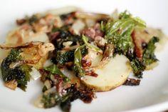 Potato, Bacon & Kale Tinfoil Dinners + A New Approach