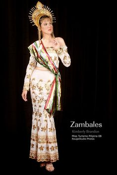 Excellent Barot Saya  Dress Worn By Women During And After The Spanish