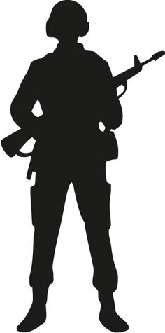 Soldier outline