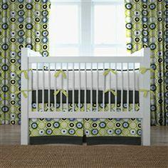 Green Crib Bedding