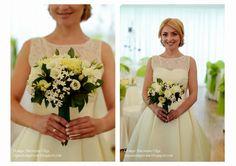 Baiciurina Olga's Design Room: Green&Ivory wedding bouquet-Бело-зеленый букет невесты.