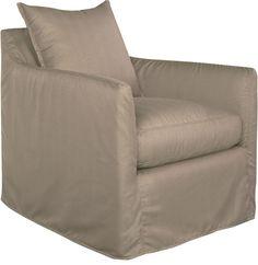 Lee Industries Cypress Swivel Lounge Chair
