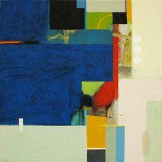 abstract paintings bob hunt artist modern