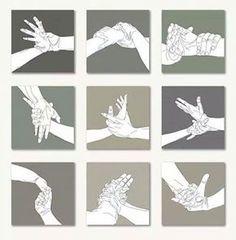 Wrist locks (Aikido) 9 Técnicas de Aikido con mano vacía para torsión de mano y muñeca #aikido #manov