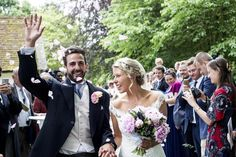 Heloise Backhouse and Ollie Cook achieved their dream countryside wedding in the heart of Suffolk. French Wedding, Chic Wedding, Floral Wedding, Summer Wedding, Marry Your Best Friend, Peony Bouquet Wedding, Outdoor Wedding Reception, Countryside Wedding, Wedding Confetti