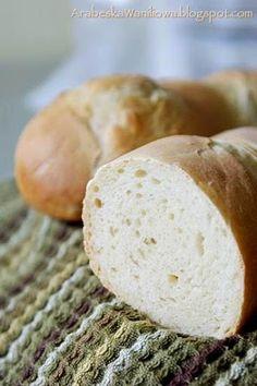 Arabeska : Bagietki na maślance Food To Make, Food And Drink, Cooking, Recipes, Brot, Kitchen, Recipies, Ripped Recipes, Brewing