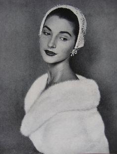 Ballerina Anya Linden - November 1954