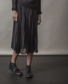 Loving this flowing KristenseN du Nord skirt.