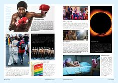 Queensland Pride 369 Itinerary p24-p25 (Double Page)