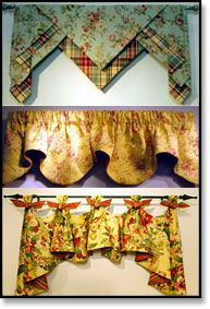 Draperies, valances, blinds and other Almost Custom window treatments at Roomers Design Shoppe Richmond, VA