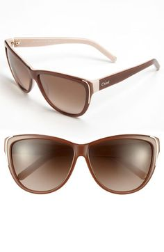 Chloé Oversized Sunglasses available at #Nordstrom