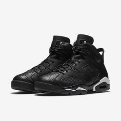 save off 53762 947d1 Details about Nike Air Jordan Retro VI 6 Black Cat Men s Size 7-11 Black  White 384664-020